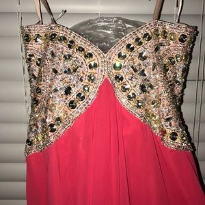 Terani Couture Dresses - Bnwt Couture beautifully beaded prom dress.
